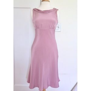 J. Crew Dresses - J. Crew *PURPLE* Silk Tricotine Hope Dress NWT sz4